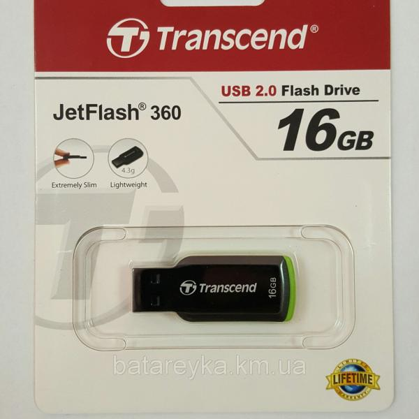 Флеш-драйв Transcend 16 GB JetFlash 360