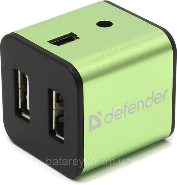 USB-хаб DEFENDER QUADRO IRON USB 2.0 (83506)