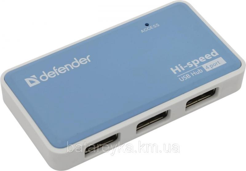 USB-хаб DEFENDER QUADRO POWER USB 2.0 (83503)
