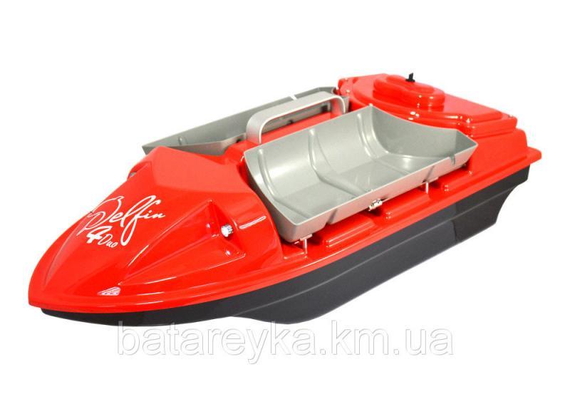 Кораблик для рыбалки Дельфин-4 с эхолотом Lucky FF 718 Li-w и GPS