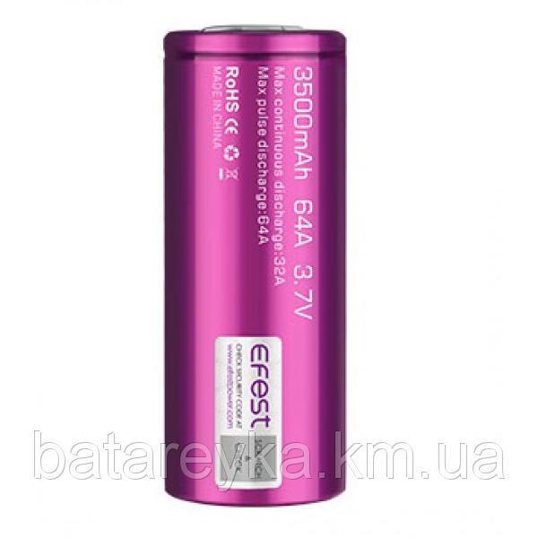Аккумулятор Efest IMR26650 3500mAh 64A