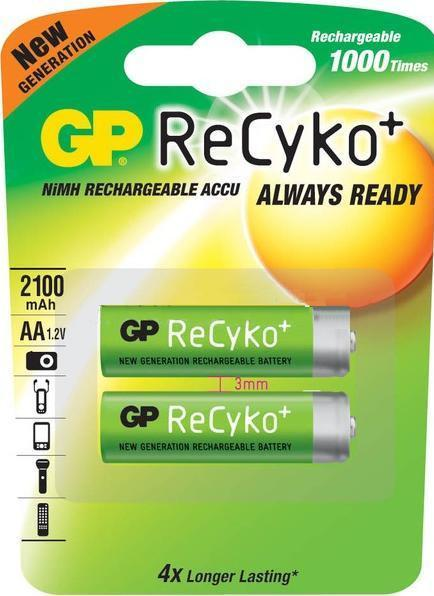 Аккумулятор GP АА  ReCyko+ 2100mAH