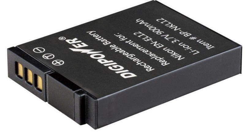Аккумулятор NIKON  EN-EL-12H 3,7V 850mAh