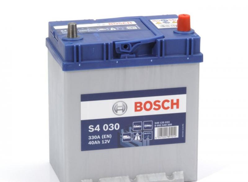 Аккумуляторная батарея Bosch S4 12v 40Аh 330A