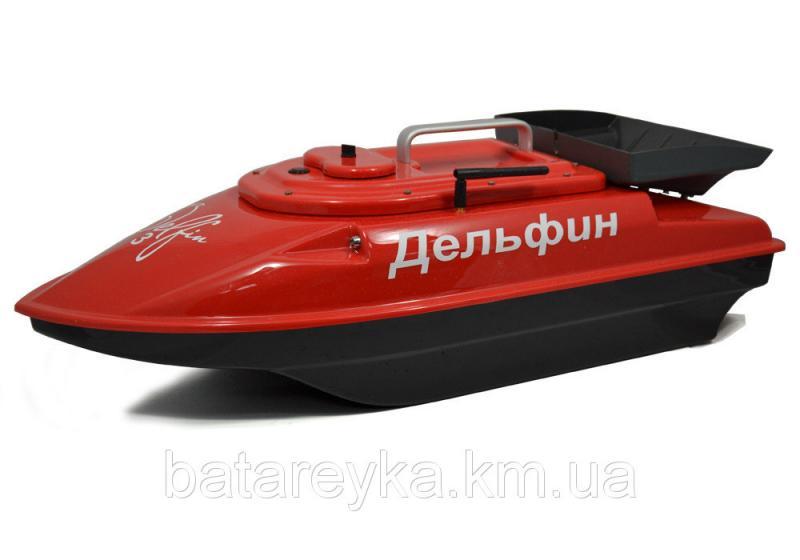 Кораблик для рыбалки Дельфин-3 с эхолотом Toslon TF500 и GPS