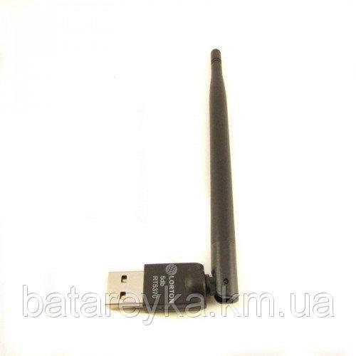 Wi-Fi адаптер LORTON RT5370 для спутниковых і T2 тюнеров