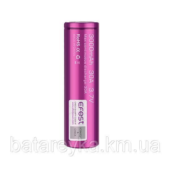 Аккумулятор Efest IMR20700 3000mAh 30A