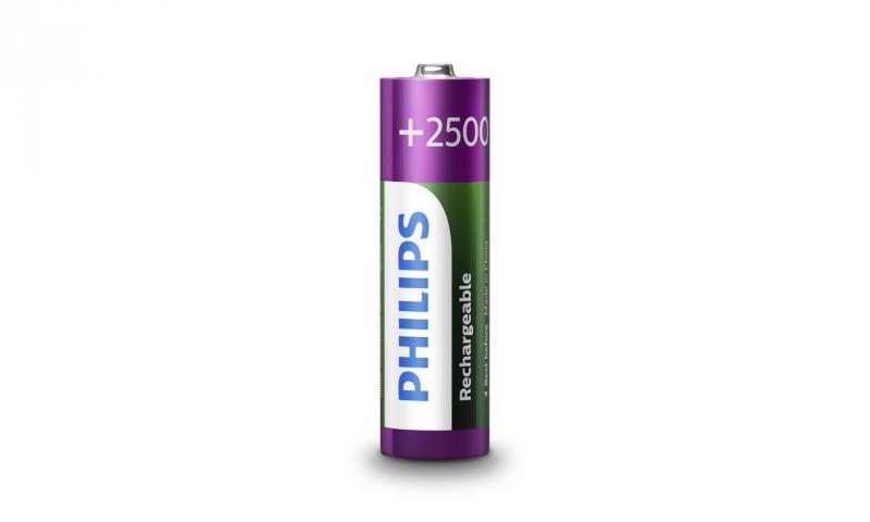 Аккумулятор PHILIPS Rechargeable AA/R6 2500mAh Ready to Use