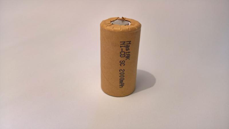 Аккумулятор технический MastAK Sab-c 1,2v 2000mAh (Ni-Cd)