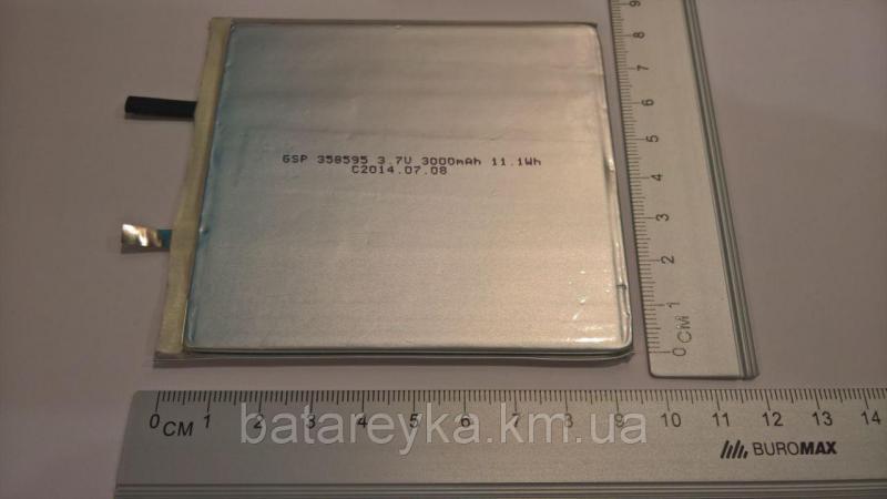 Литий-полимерный аккумулятор GSP 3,7V 300mAh