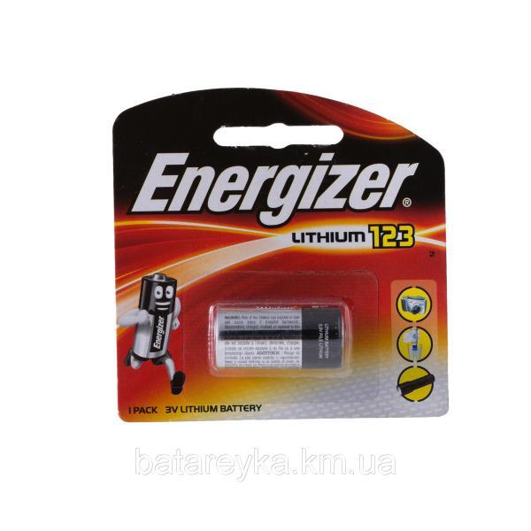 Батарейка ENERGIZER Lithium Cell  3V CR123