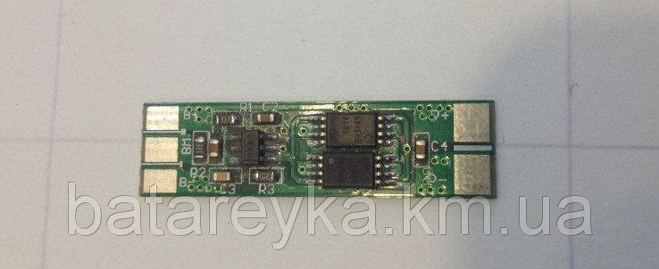 Плата защиты (PCM) для Li-Ion батареи 7.4В 2А WYY-2S 0830