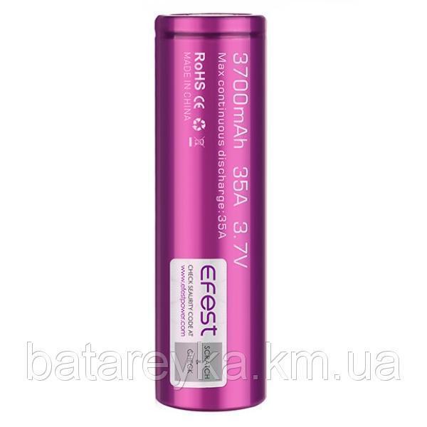 Аккумулятор Efest IMR21700 3700mAh 35A