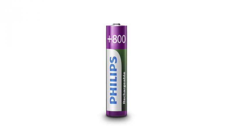 Аккумулятор PHILIPS Rechargeable AAA/R03 800mAh