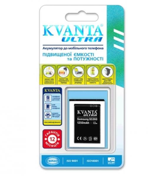 Аккумулятор KVANTA ULTRA  Samsung S5360