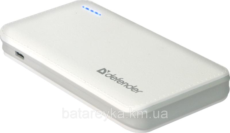 Power bank Defender Tesla 5000, 1 USB, 5000 mAh, 5V/1A