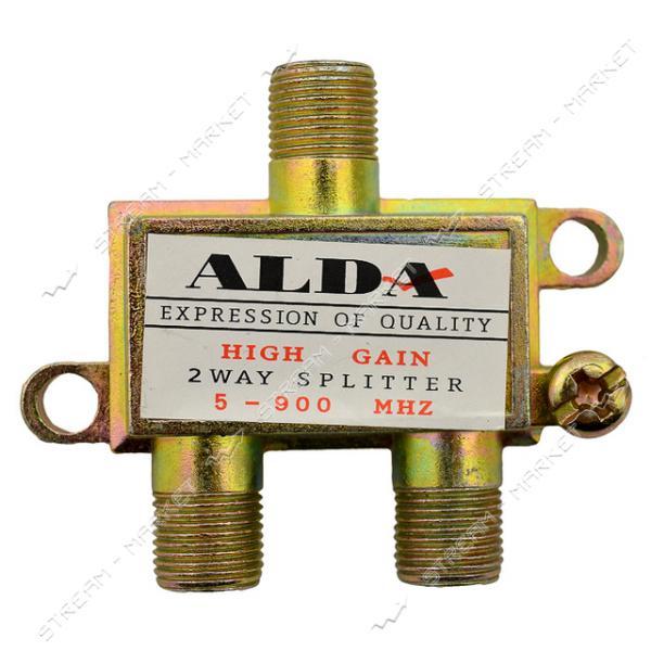 Сплиттер для антенного кабеля ALDA 2-Way