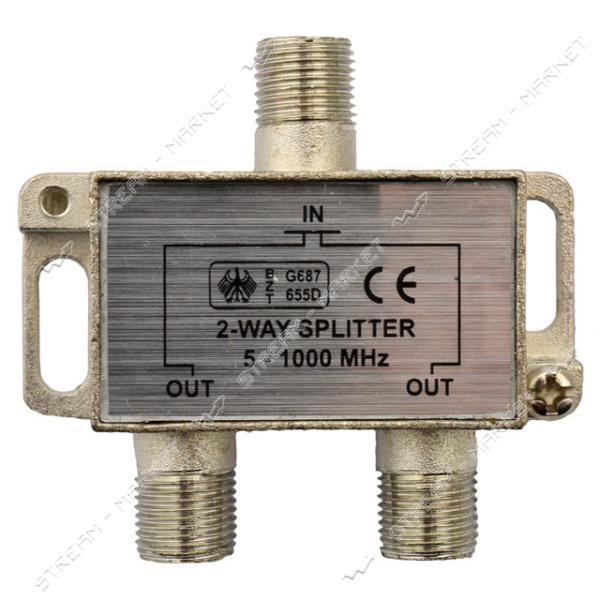 Сплиттер для антенного кабеля 2-Way Splitter