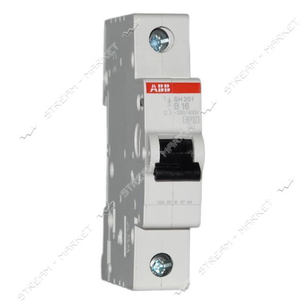 Автоматический выключатель однополюсный АВВ SH 201-В50