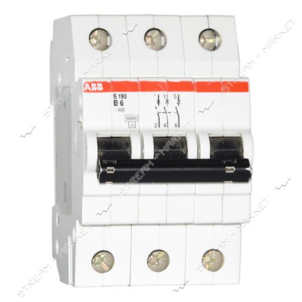 Автоматический выключатель трехполюсный АВВ SН 203-В10