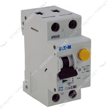 Дифференциальный автомат MOELLER(EATON) 1N/25 двухполюсный PFL 30mA