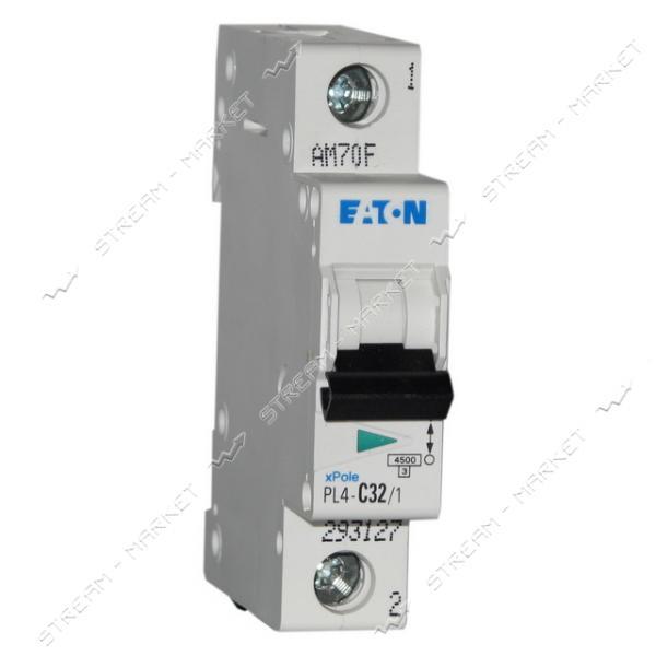 Автоматический выключатель однополюсный MOELLER(EATON) PL 4-C20/1