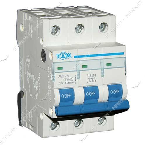 ТДМ автоматический выключатель трехполюсный 3Р 32А (6кА)