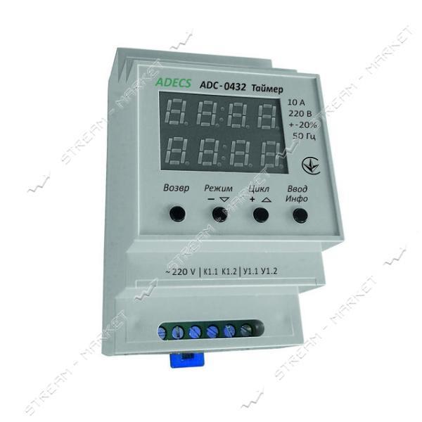 ADECS Таймер циклический ADC-0432 (реле времени)