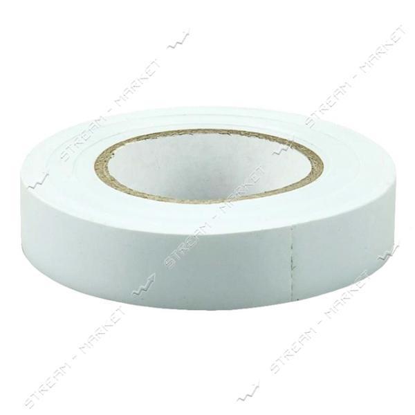 Изолента ПВХ ИЭК 15х0.13мм 20м белая