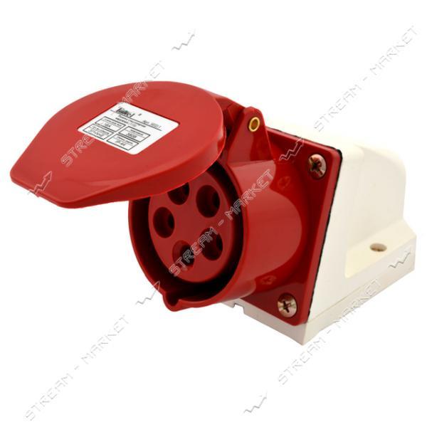 Takel Розетка стационарная 5 контатктов (3Р N Е) 16А 380В IP44 (115)