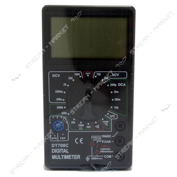 Мультиметр 700 C с звуковым сигналом изм.температуры