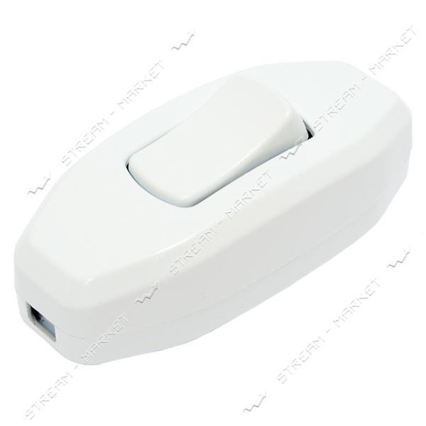 Выключатель для бра DE-PA 11201 белый 6 А