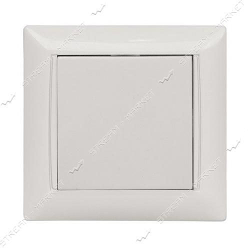 Выключатель LUXEL PRIMERA 3002 белый 10шт