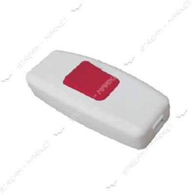 Выключатель для бра LUXEL 1207 с красной кнопкой