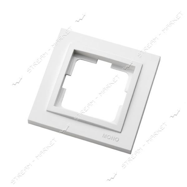 190000-160 MONO ELECTRIC Despina Рамка одноместная белая