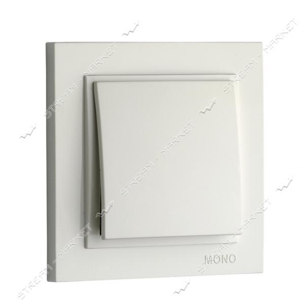 Выключатель 102-190025-100 MONO ELECTRIC Despina белый