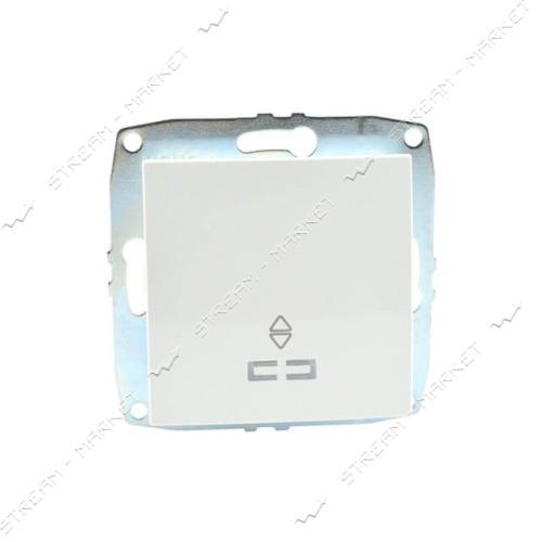 MONO ELECTRIC 500-001925-110 L/D МЕХАНИЗМ Выключатель проходной (1 клавиша) с подсветкой белый