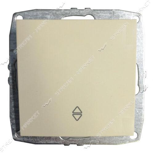 MONO ELECTRIC 500-001725-112 L/D МЕХАНИЗМ Выключатель проходной перекрестный крем