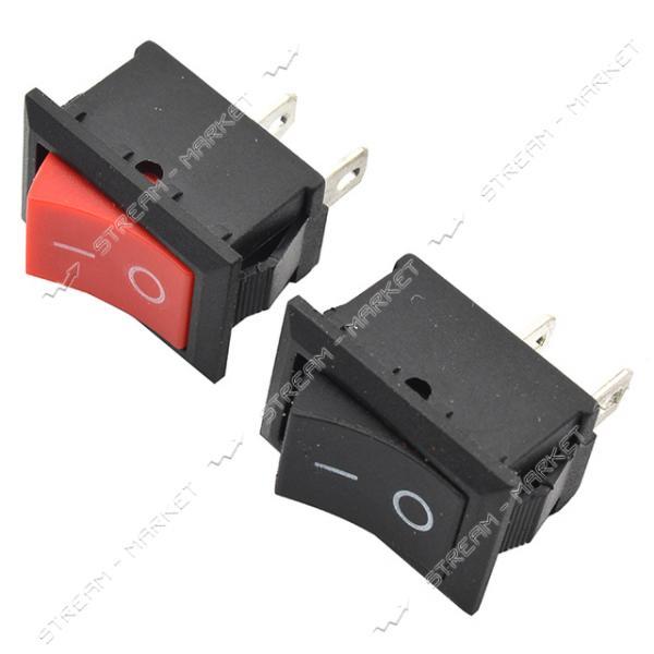 Кнопка 'Вкл/Выкл' клавиша средняя 2 контакта 2 положения без подсветки (кп-5)