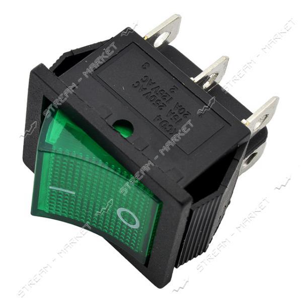 Кнопка 'Вкл/Выкл' клавиша широкая 6 контактов (кп-46)