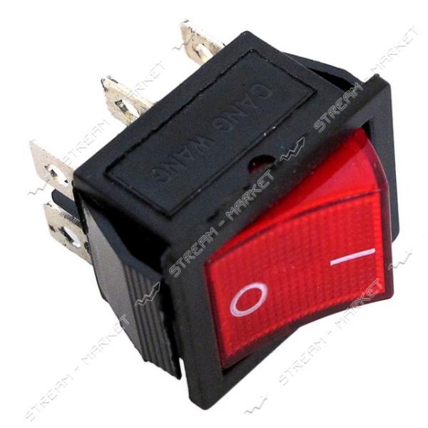 Кнопка 'Вкл/Выкл' 6 контактов (кп-45и)