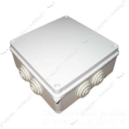 Коробка распределительная наружного монтажа 150*150*70 с резинками IP65 - Монтажные коробки на рынке Барабашова