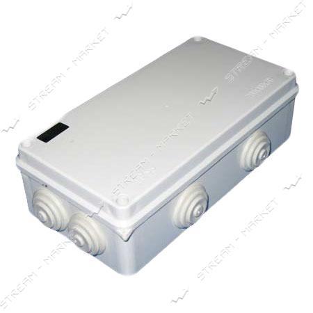 Коробка распределительная наружного монтажа 200*100*70мм. с резинками IP65