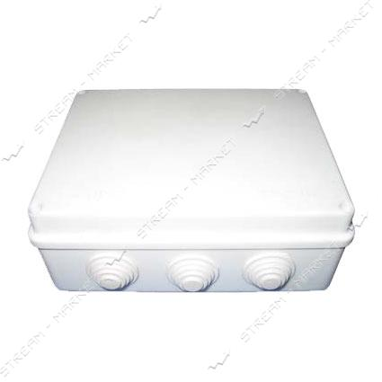 Коробка распределительная наружного монтажа 200*155*80мм. с резинками IP65