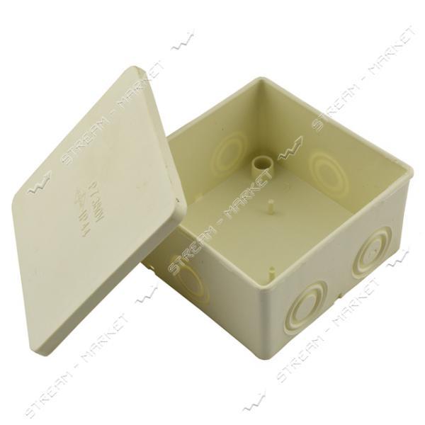 Коробка распределительная наружного монтажа P7 (без клемы) 60шт.в мешке
