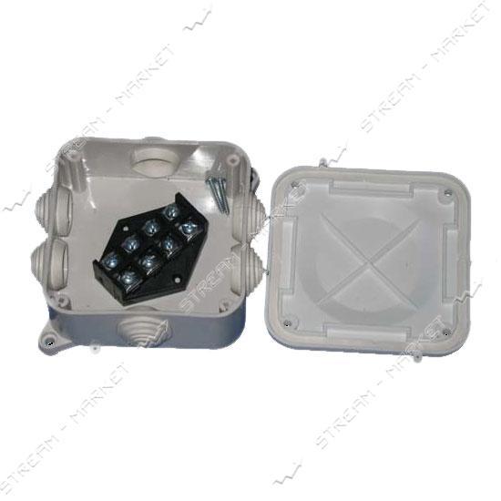 Коробка распределительная наружного монтажа Р3 (клема) 4 х 10 мм 50шт. в мешке IP 41