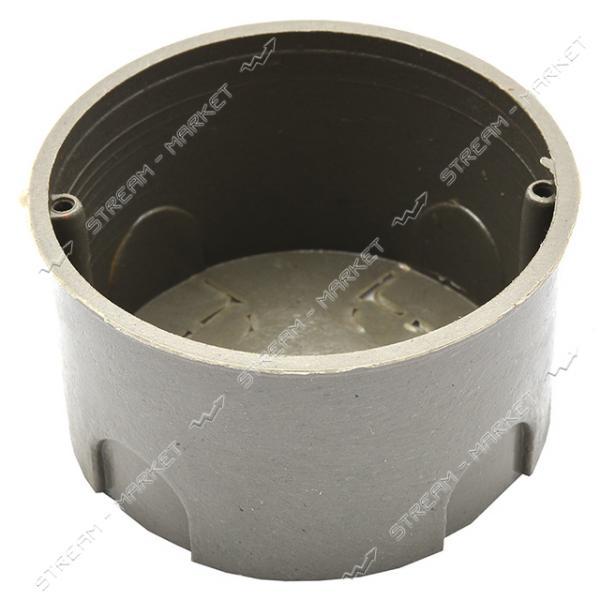 Коробка монтажная в бетон 60*40 без винта ( КРАТНО 100 шт.)