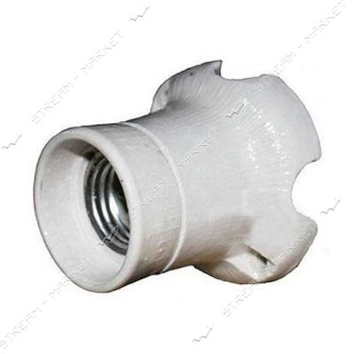 Патрон прямой керамический ФПК-0, 4 Е-27