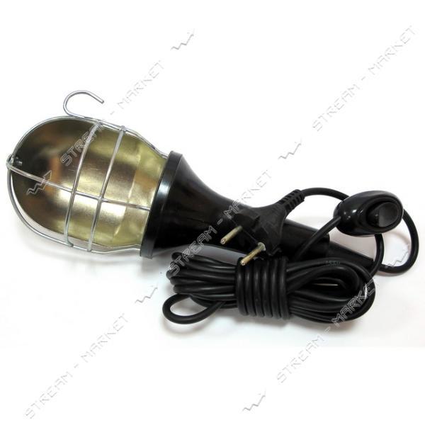 Лампа переносная карболит 5 м