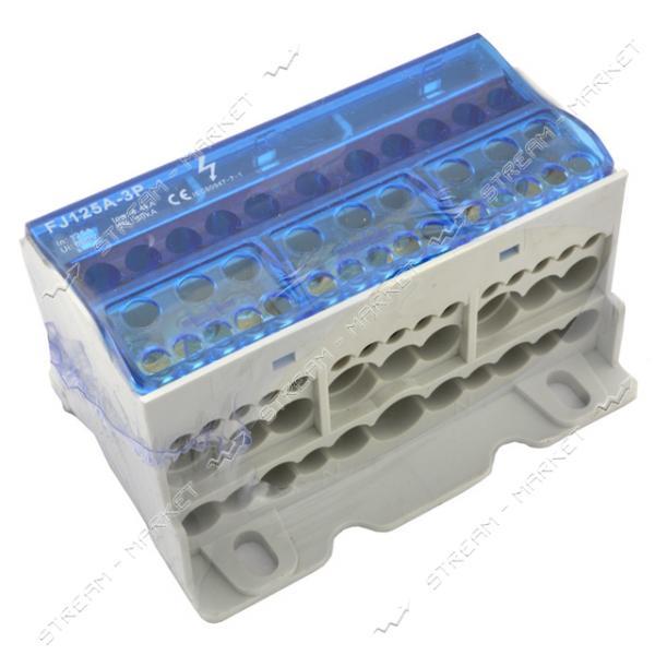 Блок распределительный 125А/3 ( Imax-125A, Umax-690V )